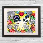 Day Of The Dead Art Print - ..